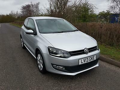2013 Volkswagen Polo 1.2 60ps Match Edition, ONLY 30198 MILES, VWSH, 1 OWNER WOW