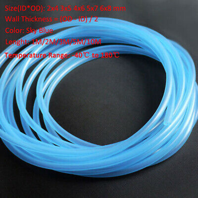 Food Grade Sky Blue Silicone Tube Beer Brew Flexible Hose Drinking/Milk Pipes