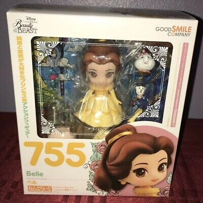 Bella Nendoroid Blythe Good Smile Disney Beauty And The Beast Belle Nendoroid Figure Muñecas Modelo Y Accesorios