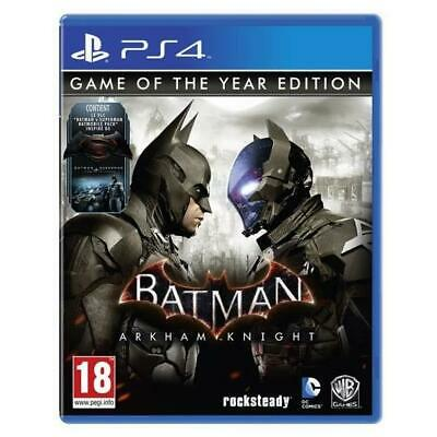 Batman Arkham Knight Edition GOTY - PS4 neuf sous blister VF