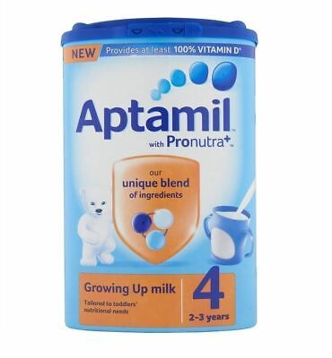 Aptamil with Pronutra+ Growing Up Milk 4 2-3 years 800g (( SIX PACKS ))