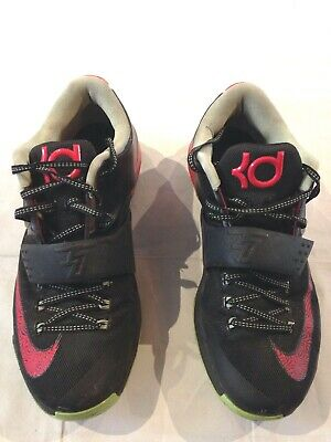huge selection of b8110 228d8  653996 063  Nike Men s Sz 10.5 Us Kd Vii 7 Bad Apples Black Action