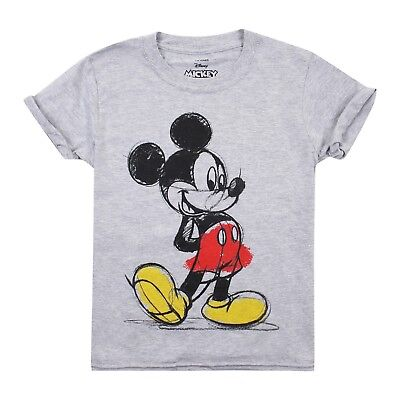 Disney - Mickey Mouse - Kids T-Shirt - Ages 7-12 - Official