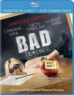 Bad Teachers : Blu-Ray : New And Factory Sealed :