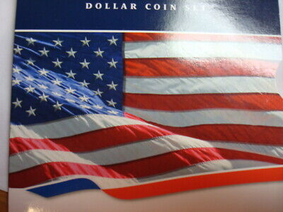 2008 Us Mint Annual Uncirculated Dollar 6 Coin Set