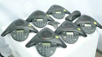 Job Lot of Polycom SoundStation Conference Meeting Phones & Accessories