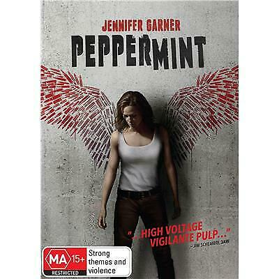 Peppermint Dvd, New & Sealed, 2019 Release, Free Post