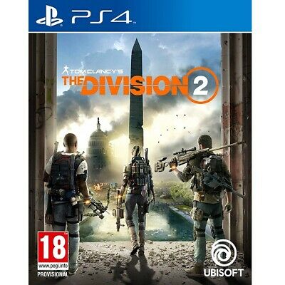 Tom Clancy's The Division 2 PS4 Brand New and Sealed