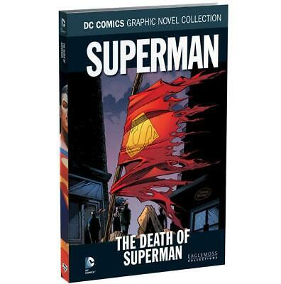 DC Comics Graphic Novel Collection Vol 16 DEATH OF SUPERMAN Hardback 176 Pages!!