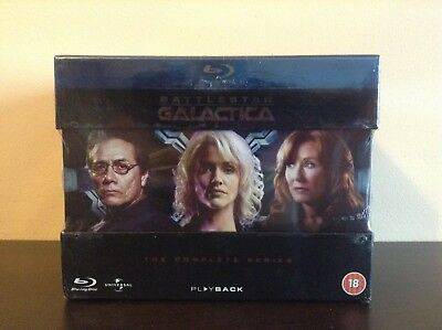 Battlestar Galactica - The Complete Series [Blu-ray] *BRAND NEW*
