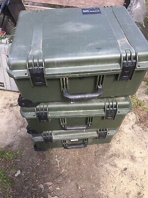 Pelican Hardigg iM2750 Storm Rolling Travel Case - Green With Foam.. Free Ship