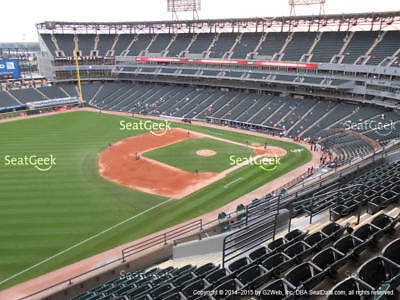 1-4 Cleveland Indians @ Chicago White Sox 2019 Tickets! 5/13/19 Sec 548, Row 1!