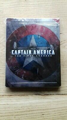 Steelbook Captain America The First Avengers Blu-ray,3D