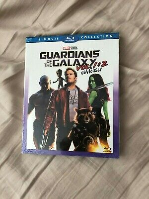 Guardians of the Galaxy Volume 1 and 2 Blu-Ray Bundle Brand New Free Shipping!