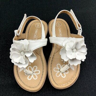Toddler Girls Size 7,9 or 10 Multi Jada Sandals by Cherokee NWT