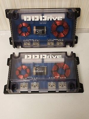 Pair Of Alpine Crossover DSE-C2DD Tweeter Woofer DD Drive Old School