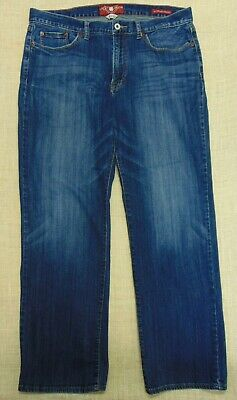 c6a83c59 Lucky Brand 361 Vintage Straight Jeans Men tag 36x32 actual 30 inseam  7MC1014