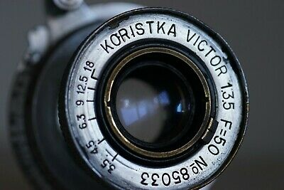 Koristka Victor 50mm 3,5 m39 ltm Leica tread mount colapsible