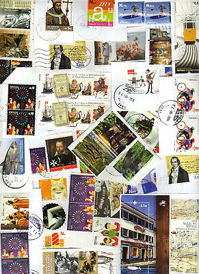 Portugal Kiloware 30g+ Euro Stamps on paper Used few duplication (2 scans) #2