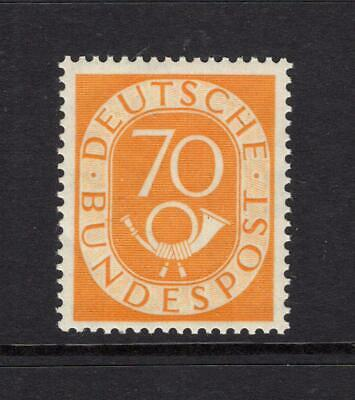 Germany 1952 70pf Post Horn - OG MNH - SC# 683   Cats $400.00