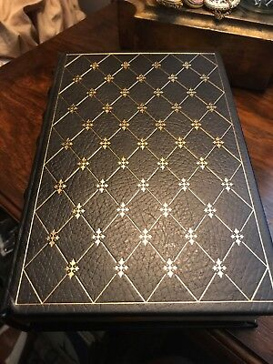 1976 Franklin Library Andersonville MacKinlay Kantor Pulitzer Prize Leather Book