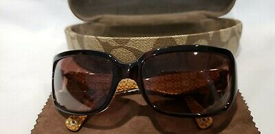 468d3c928e166 COACH WOMEN S SUNGLASSES With Hard Case -  20.00