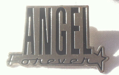 AUTHENTIQUE PIN'S argenté - FOREVER de Thierry MUGLER - Pin's signed - Collector
