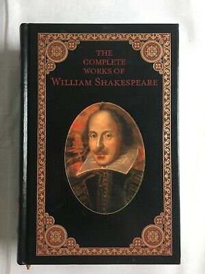 The Complete Works of William Shakespeare Hardcover Book 1994 Barnes & Noble