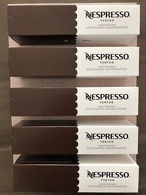 50 Nespresso Ventuoline Holiday Limited Edition Pack - Paris Exotic Macaron