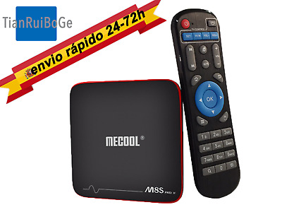 MECOOL M8S PRO W Android 7.1 2+16G Smart TV BOX 2.4G WIFI 4K100Mbps Quad Core