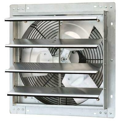 1280 cfm power 16 in. variable speed shutter exhaust fan | iliving wall mounted