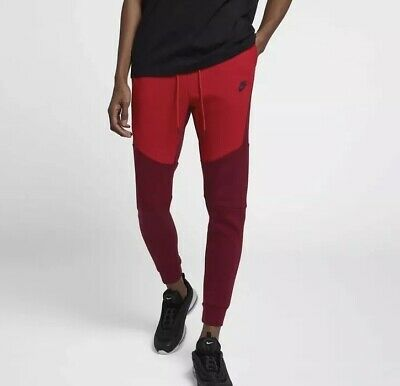 f8774db24435 Nike Tech Fleece Jogger Pants Size XL University Red 805162 677