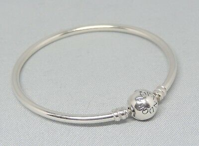 Authentic Pandora 6.7 Inch Bangle Bracelet Charm/Bead Silver ALE 925 590713-17