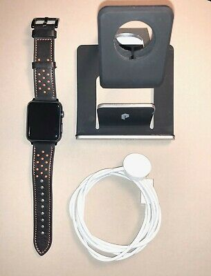 Apple Watch 1st Generation Sport Smart Watch - 42mm - Grey (MJ3T2LL/A)