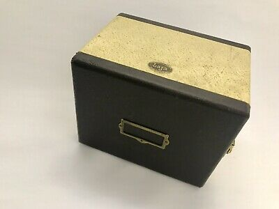 Barnett & Jaffe photo slide case.  RE-PURPOSE Music Gear, Jewellery, Sewing, ART