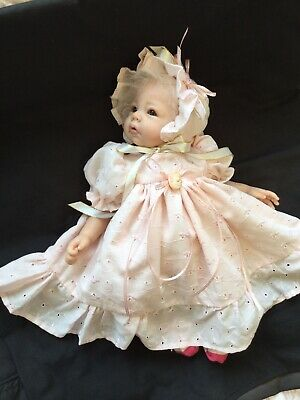 Reborn Doll Dress Set. Pink Broidery. 15-16""