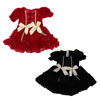 Adorable Pleated Princess Skirt Outfits for American Girl 18inch Doll Accs