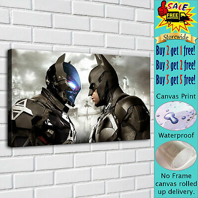 """batman posters HD Canvas Print Painting Home Decor room Wall Art Picture 16""""x30"""""""