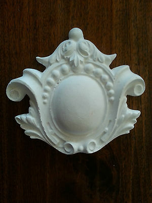 Egg Dart ornate rubber latex mould mold wall pediment embellishment ceiling new