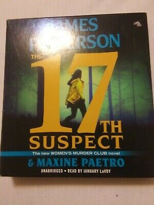 The 17Th Suspect By James Patterson Audiobooks A Woman's Murder Club Novel