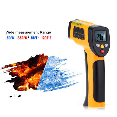 High Precision Non-Contact IR Digital Infrared Thermometer Temperature Tester