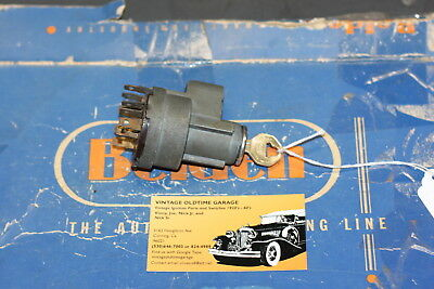 1955,1956,1957,1958,1959, Chevrolet Ignition Switch Genuine Delco Remy