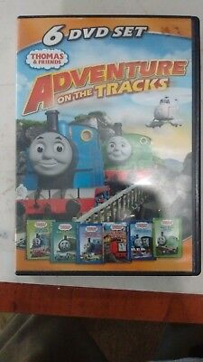ZX123 Thomas  Friends: Adventures on the Tracks (DVD, 2011, 6-Disc Set)