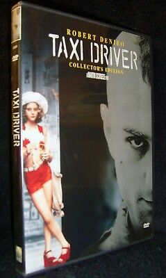 Taxi Driver (DVD, 1999, Collectors Edition) Mint•USA•Robert De Niro•Jodie Foster