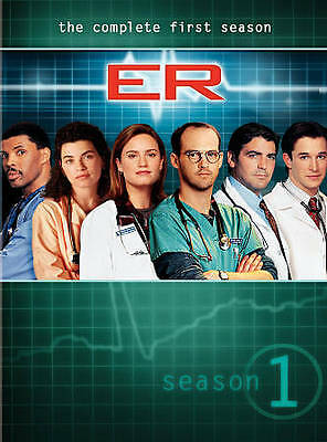 ER - The Complete First Season (DVD, 2011, 7-Disc Set) George Clooney