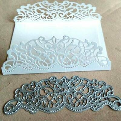 Diy Dies Envelope Decorative Lace Metal Paper  Craft Cutting Embossing Card