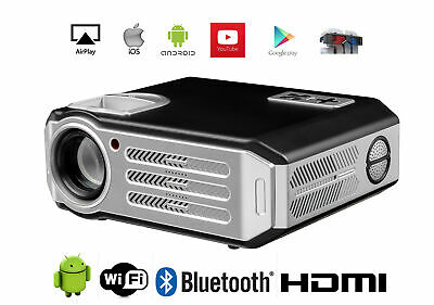 1080P 3D Proyector LED FULL HD 4800 Lumens Proyector Android WIFI Bluetooth 4K