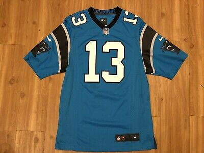 Top NIKE CAROLINA PANTHERS Kelvin Benjamin Jersey Blue Men's Size Adult
