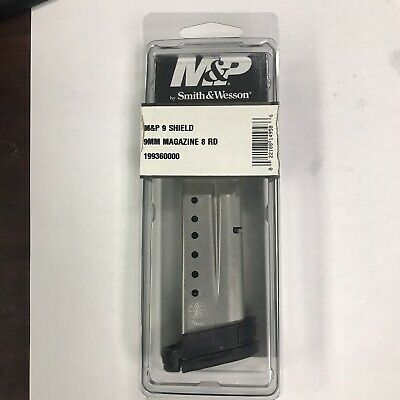 Smith & Wesson M&P Shield 9mm 8 Round Magazine 199360000 S&W 8rd Mag