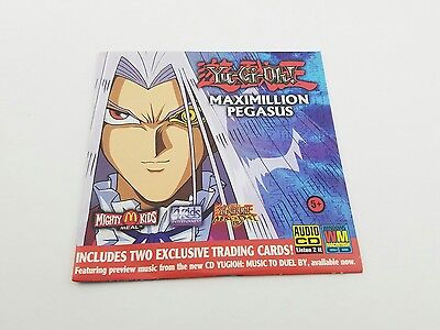Yu-Gi-Oh! Music To Duel By CD McDonald's Mighty Kids Meal Maximilion Pegasus